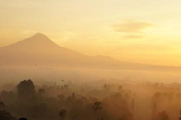 Mysterious Borobudur in Indnesia