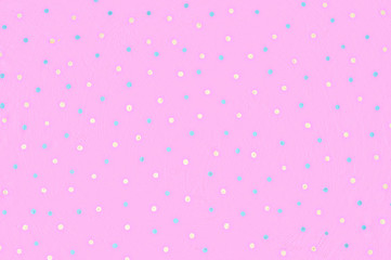 Background colorful polka dots