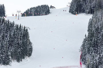 Alpine ski racing course