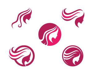 Women beauty salon logo