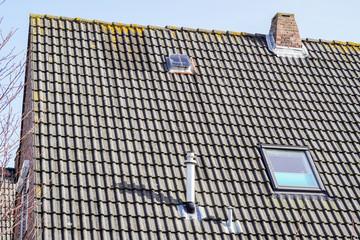 Schornstein auf dem Dach