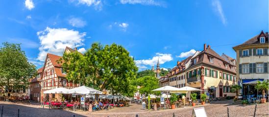 Weinheim, Marktplatz, Panorama