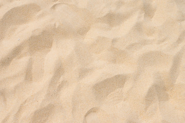 Sand on the beach as background