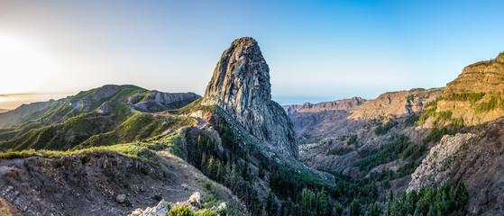 Foto auf Gartenposter Gebirge De Agando auf La Gomera