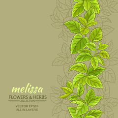 melissa vector background