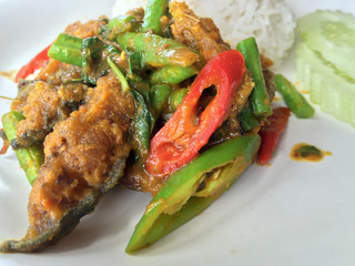 Spicy catfish is delicious but spicy