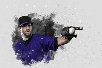 Wall Mural - Baseball Player