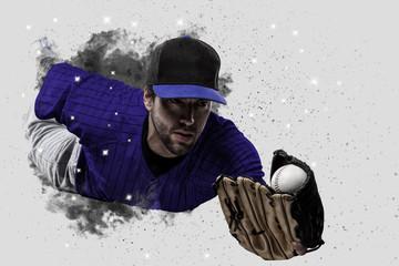 Fototapete - Baseball Player