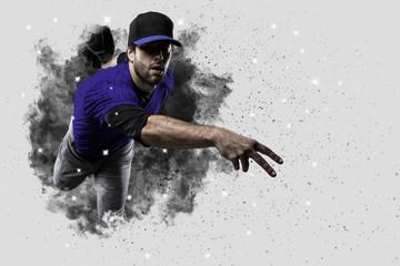 Fotomurales - Pitcher Baseball