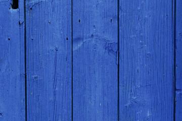 Sfondo in legno blu cobalto