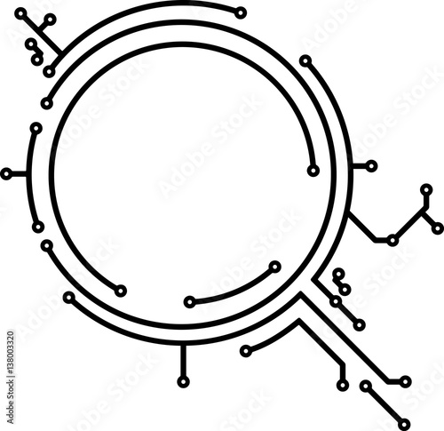 "Pcb Designers Den: ""Abstract Round PCB-style Frame For Your Design"