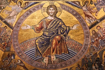 Jesus Christ in Florence Baptistery, Italy