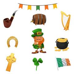 St Patricks Day Icons