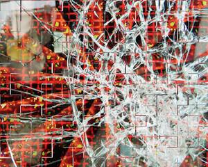 Broken Glass Effect Shattered Smashed