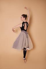 girl ballerina dancing