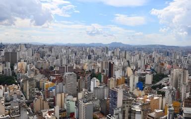 Sao Paulo Brazil City panorama Skyscraper