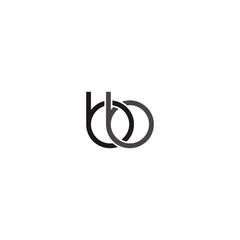 Bb Letter Logo Vector