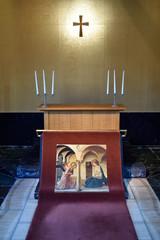 なばなの里の教会の風景