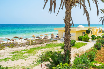 The beaches of Tunisia