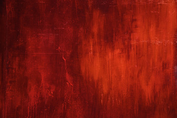 Red Metal rust wall texture surface natural color use for background