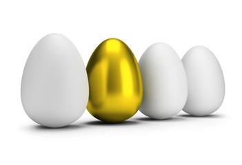 one golden egg