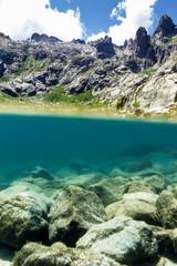 Lac de Melu, Corsica, France