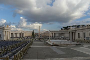 San Pietro in Vaticano, wonderful Religiosity. Rome