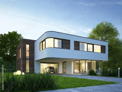villa abend 5 stockfotos und lizenzfreie bilder auf bild 138066150. Black Bedroom Furniture Sets. Home Design Ideas