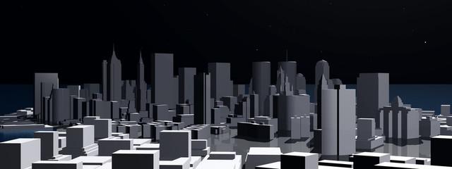 3D Stadtansicht