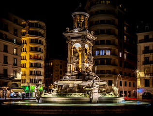 Fountain on Jacobin's square