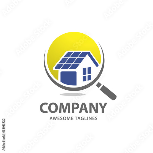 quothome solar panels solar energy logo renewable