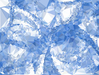 Abstract polygonal geometric background.