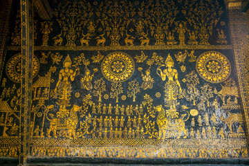 Details shot of Wat Xieng Thong