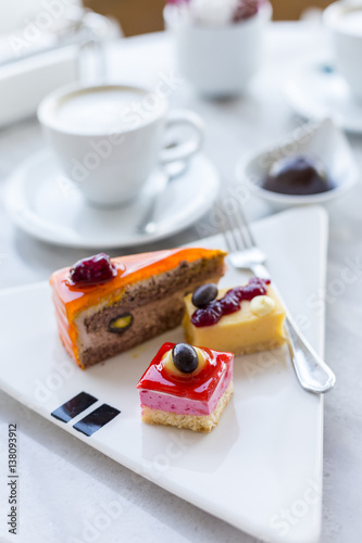 Free Coffee With Cake Selections