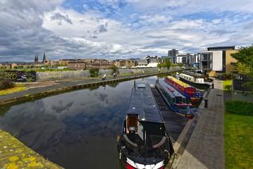 Poster Channel Edinburgh - Union Canal