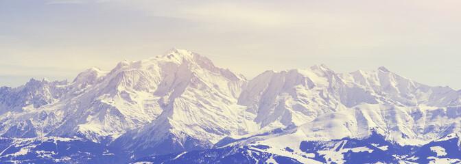 Mont Blanc Panoramique