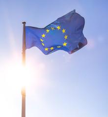 Wall Mural - european flag