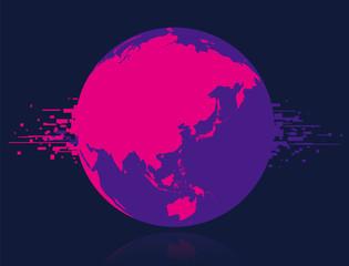 地球 デジタル