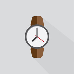Icon watch with the shadow