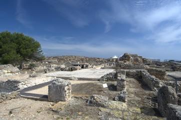 Nora, Roman city ruins in Sardinia