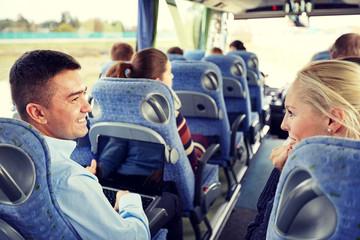 Flirten in de bus