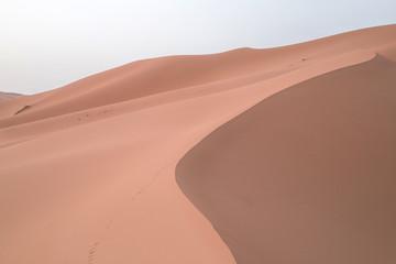 Deserto con linea