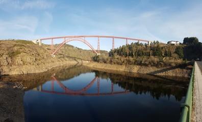 Vue Panoramique du Viaduc de Garabit