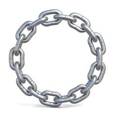 Circle chain 3D