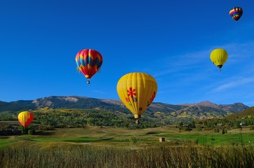 Snowmass Balloon Festival Colorado