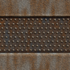 Seamless steampunk tile