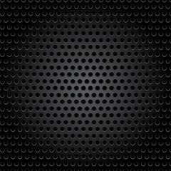 black metallic background, abstract wallpaper, vector illustration