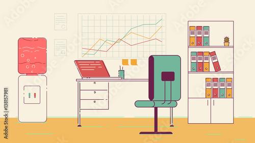 office coworking space photo libre de droits sur la banque d 39 images image 138157981. Black Bedroom Furniture Sets. Home Design Ideas