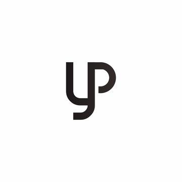 YP Letter Logo Vector