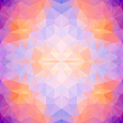 Abstract polygonal seamless vector background